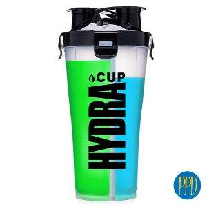 2 part shaker cup for New York and New Jersey business marketers