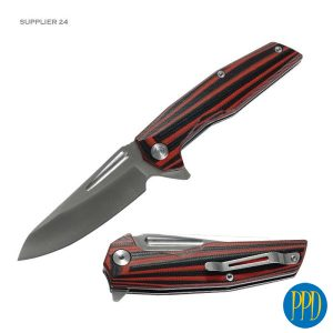 Get your business or event on high quality custom logo knives