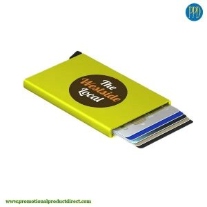 secrid-cardprotector-lime- RFID blocking credit card holder for business to business marketing in New York and New Jersey.