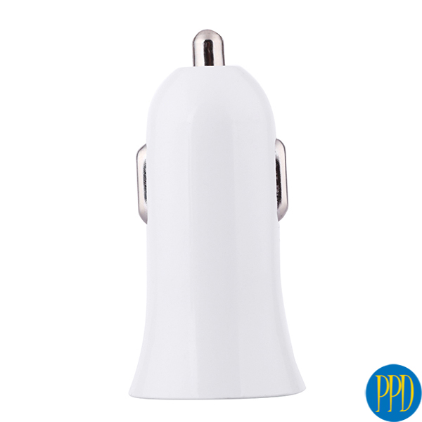 2 USB port car charger for mobile phone